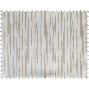 Beige brown color lightning design poly main curtain designs