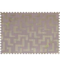 Brown purple grey color elegant contemporary design poly main curtain designs