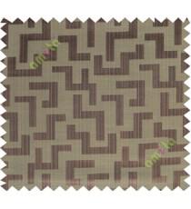 Black brown color elegant contemporary design poly main curtain designs