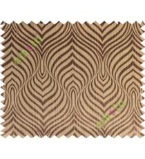 Black brown color beautiful seamless retro design poly main curtain designs