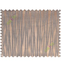 Copper brown black color lightning design poly main curtain designs