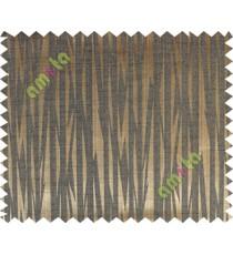 Black brown grey color lightning design poly main curtain designs