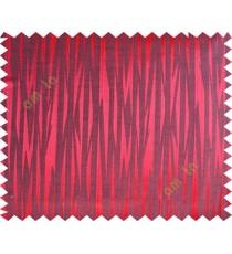 Black maroon color lightning design poly main curtain designs