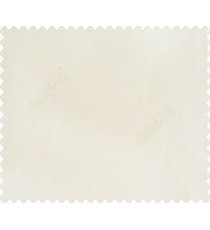 Light cream solid canvas look polyester main curtain