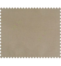 Dark chocolate brown solid canvas look polyester main curtain