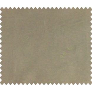 Brown black solid canvas look polyester main curtain