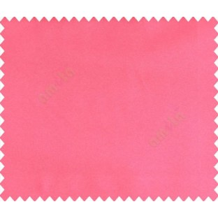 Dark pink solid canvas look polyester main curtain