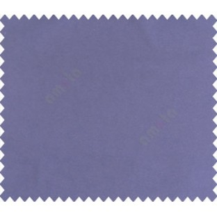 Royal blue solid canvas look polyester main curtain