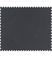 Black solid canvas look polyester main curtain