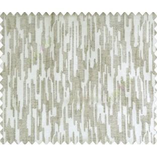 Abstract rain drops contemporary puzzle design texture grey brown main curtain