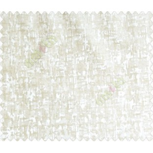 Abstract large texture square design contemporary texture beige cream main curtain