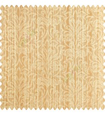 Orange beige color traditional designs vertical pencil stripes background texture finished patterns polyester main curtain