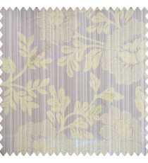 Light green grey color beautiful floral designs big designs vertical background pencil stripes texture and shiny finished combination polyester main curtain