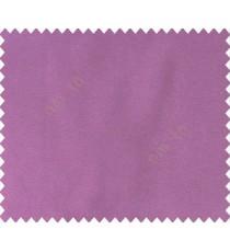 Plain texture cotton look purple solid main curtain