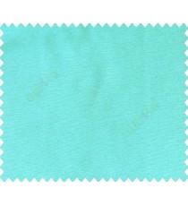 Plain texture cotton look sky sea blue solid main curtain