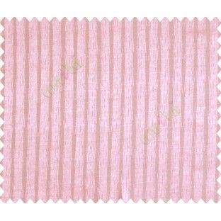 Abstract vertical lines with rain pattern design baby pink on grey base main curtain