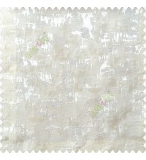 White cream color solid texture concrete design water splashes drop horizontal background stripes polyester main curtain