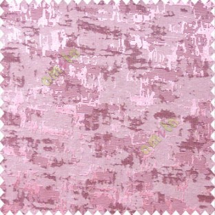 Pink purple color solid texture concrete design water splashes drop horizontal background stripes polyester main curtain