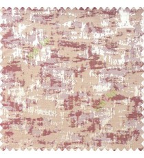 Maroon brown color solid texture concrete design water splashes drop horizontal background stripes polyester main curtain