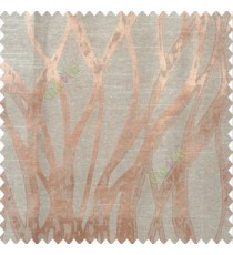 Beige brown color abstract vertical bold flowing network lines texture river design texture gradients polyester main curtain