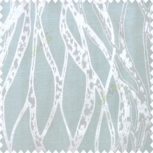 Green beige color abstract vertical bold flowing network lines texture river design texture gradients polyester main curtain