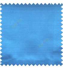 Azur blue color horizontal thin stripes texture finished background polyester base fabric main curtain