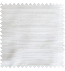 Pure white color horizontal thin stripes texture finished background polyester base fabric main curtain