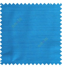 Azure blue color horizontal thin stripes texture finished background polyester base fabric main curtain