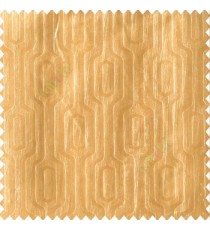 Mustard yellow color beautiful abstract vertical lines rectangles and layer of lines texture with horizontal stripes background polyester main curtain