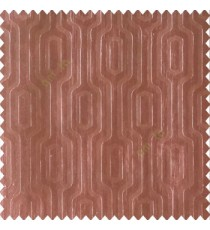Dark chocolate brown color beautiful abstract vertical lines rectangles and layer of lines texture with horizontal stripes background polyester main curtain