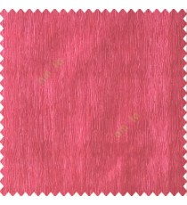 Red color vertical busy and thin stripes texture background finished and shiny base fabric polyester main curtain