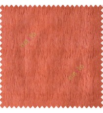 Dark orange color vertical busy and thin stripes texture background finished and shiny base fabric polyester main curtain
