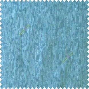 Sky blue color vertical busy and thin stripes texture background finished and shiny base fabric polyester main curtain