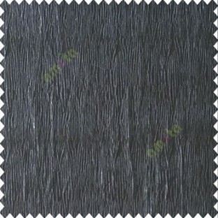 Pure black color vertical busy and thin stripes texture background finished and shiny base fabric polyester main curtain