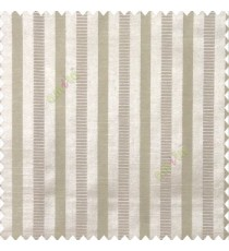 Beige color bold vertical stripes texture surface horizontal rough lines polyester main curtain
