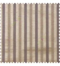 Brown blue color bold vertical stripes texture surface horizontal rough lines polyester main curtain
