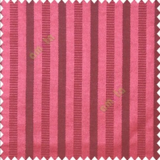 Red black color bold vertical stripes texture surface horizontal rough lines polyester main curtain