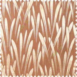 Brown orange color firecracker missile launching patterns texture background horizontal lines polyester main curtain