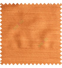 Dark orange brown color solid texture horizontal stripes designless surface texture gradients base polyester main curtain