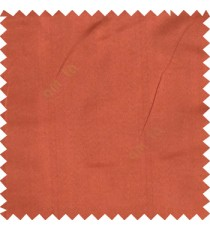 Orange color complete plain designless with polyester thick fabric shiny finished main curtain