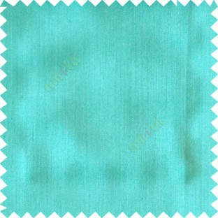 Sky blue color solid texture finished designless polyester background horizontal lines cotton look main curtain