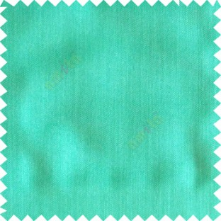 Aqua blue color solid texture finished designless polyester background horizontal lines cotton look main curtain