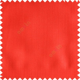 Red color solid texture finished designless polyester background horizontal lines cotton look main curtain