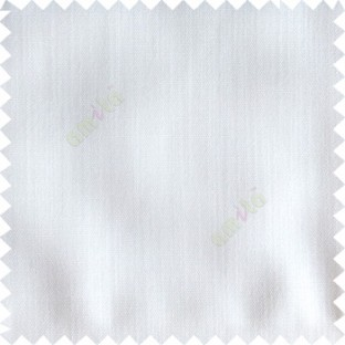 White color solid texture finished designless polyester background horizontal lines cotton look main curtain