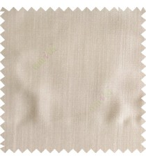 Light brown color solid texture finished designless polyester background horizontal lines cotton look main curtain