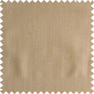 Sepia brown color solid texture finished designless polyester background horizontal lines cotton look main curtain