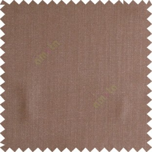 Dark brown color solid texture finished designless polyester background horizontal lines cotton look main curtain