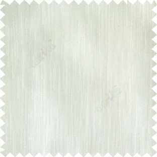 Cream color complete plain vertical texture lines patternless polyester transparent background cotton finished sheer curtain