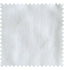 Pure white color complete plain texture gradients designless cotton finished horizontal and vertical lines with polyester transparent base fabric sheer curtain