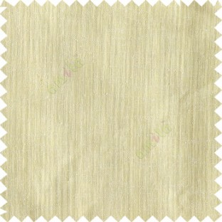 Beige color complete plain texture gradients designless cotton finished horizontal and vertical lines with polyester transparent base fabric sheer curtain